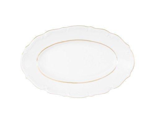 Блюдо овальное плоское Repast Классика 22 см