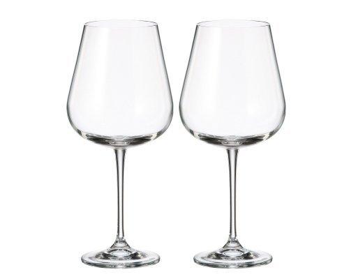 Набор бокалов для вина Crystalite Bohemia Аrdea/Amuddsen 670 мл (2 шт)
