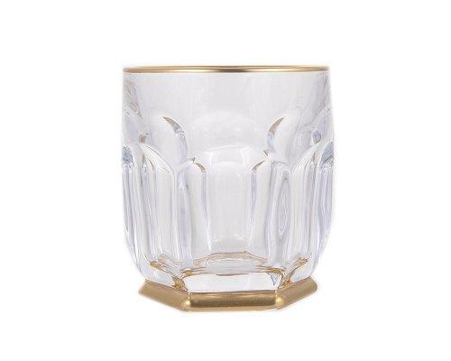 Набор стаканов для виски 250 мл Сафари Голд R-G Богемия Кристал (Bohemia Crystal)