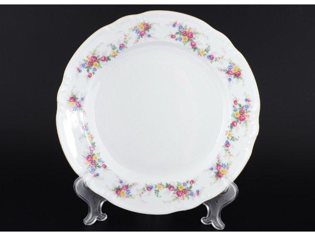 Набор тарелок 24 см Тхун (Thun) Констанция Цветочный сарафан (6 шт)