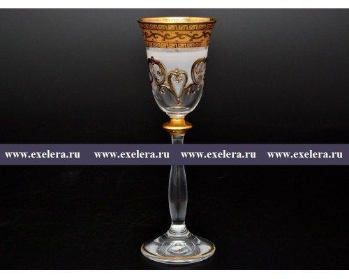 Набор рюмок для водки 60 мл Анжела Версаче R-G фон Богемия Кристал (Bohemia Crystal) (6 шт)