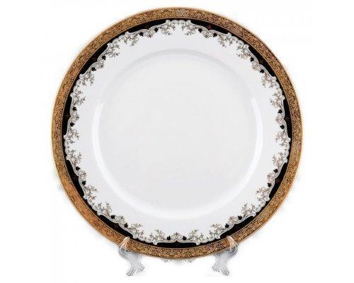 Блюдо круглое 30 см Тхун (Thun) Кристина Черная Лилия