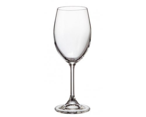 Набор бокалов для вина 250 Klara Crystalite Bohemia (6 шт)