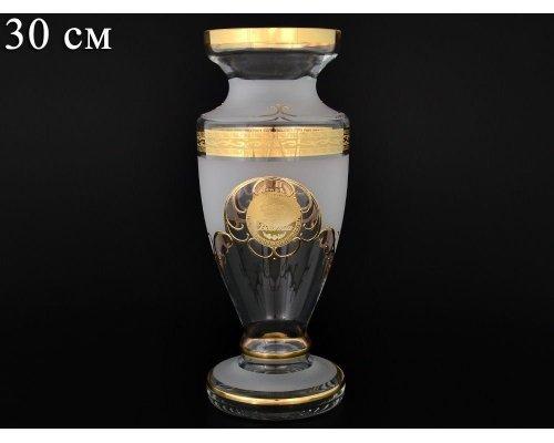 Ваза 30 см Версаче Bohemia Crystal 18987