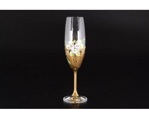 Набор фужеров для шампанского 220 мл E-S Bohemia (Богемия) (6 шт)