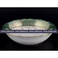 Набор салатниц 19 см из 6 штук Зеленая Паутинка Royal Czech Porcelain