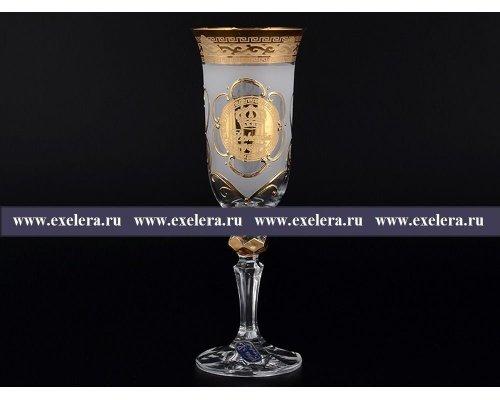 Набор фужеров для шампанского 150 мл Кристина Версаче Богемия R-G фон Богемия Кристал (Bohemia Crystal)