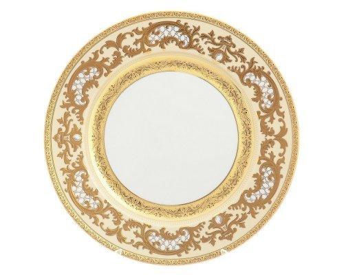 Набор тарелок 17 см Falkenporzellan Alena 3D Creme Gold Constanza (6 шт)