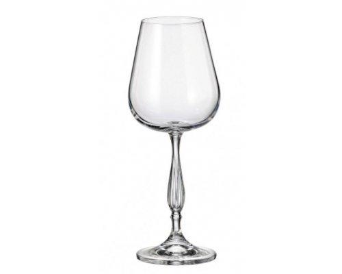 Набор бокалов для вина 260 мл Crystalite Bohemia Scopus/evita
