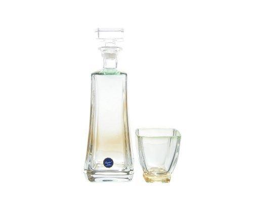 Набор стаканов для воды 7 предметов зеленая Arezzo RG