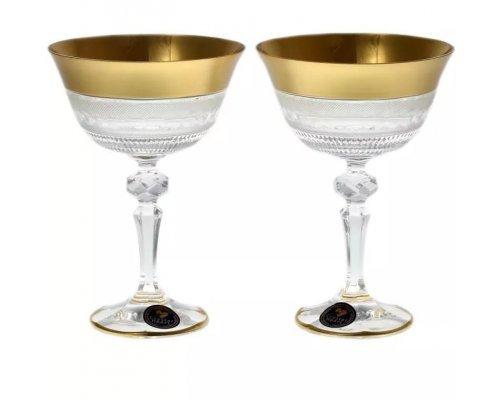 Набор бокалов для вина 180 мл Crystal Heart (2шт)
