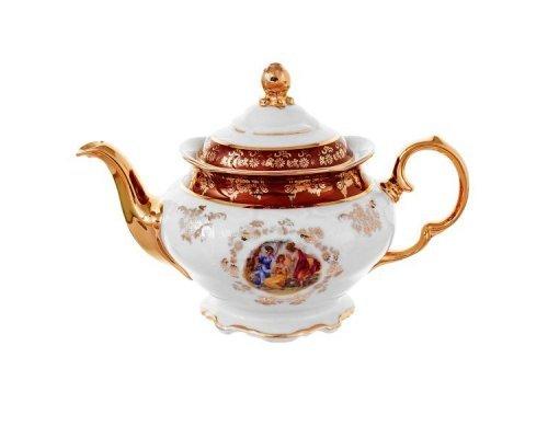 Чайник заварочный Carlsbad Фредерика Мадонна Красная 0.8 л