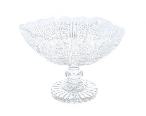 Конфетница 23 см Glasspo Bohemia (Богемия)