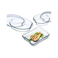 Набор блюд для запекания с крышками Simax Exclusive 5 штук