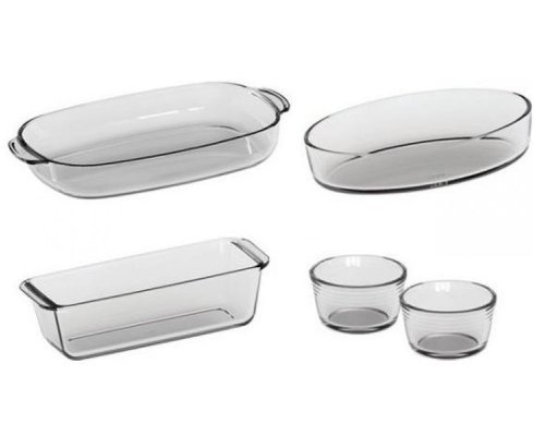 Набор посуды для приготовления 3 предмета Симакс (жаропрочный 3,5л/ 2,2л/ 1,5л/ 0,2л)