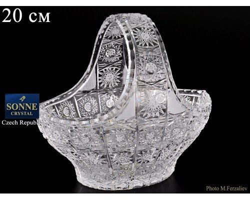 Корзина 20 см Sonne Crystal