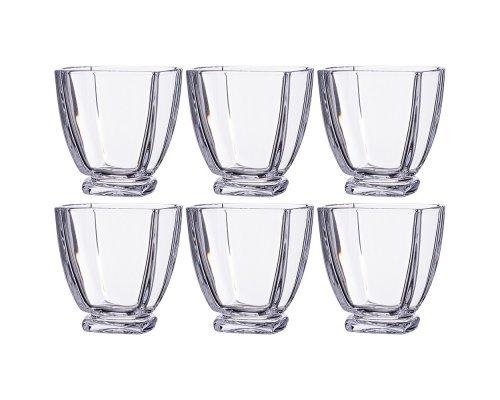 Набор стаканов для виски 320 мл Arezzo Crystalite Bohemia