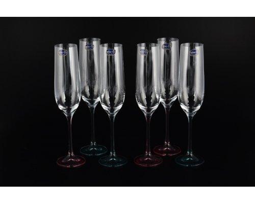 Набор фужеров для шампанского Кристалайт (Kristalayt) (6шт)