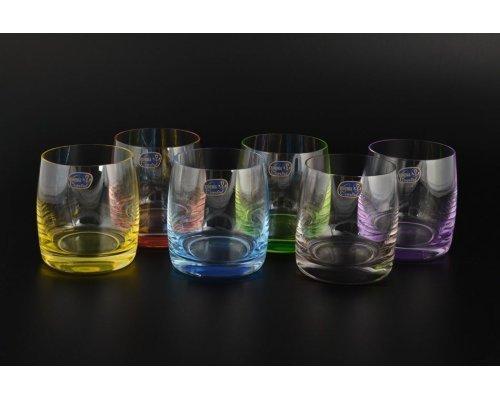 Набор стаканов для виски 290 мл Арлекино Богемия Кристал (Bohemia Crystal) (6 шт)