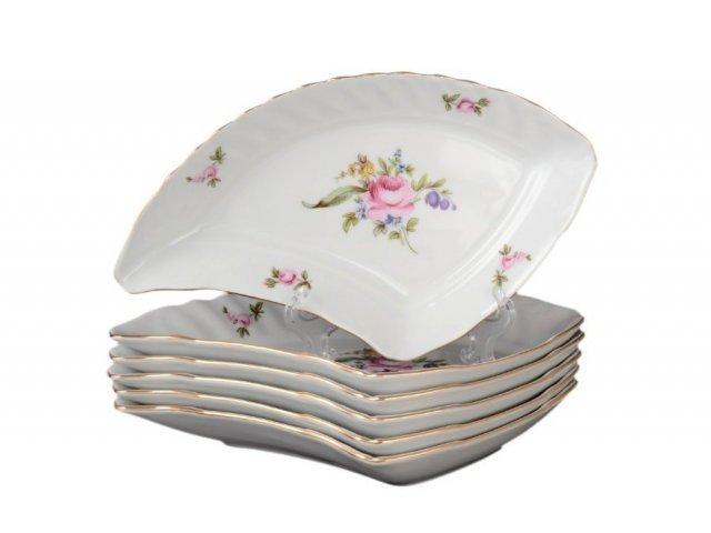 Набор салатников 21 см Полевой цветок Корона Queens Crown (6 шт)
