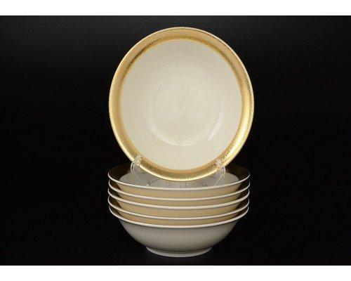 Набор салатников 13 см Falkenporzellan Cream Gold 3064 (6 шт)