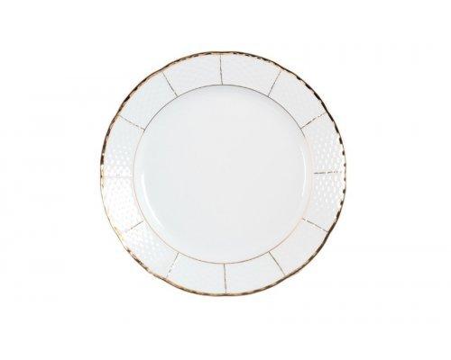 Блюдо круглое 31 см Тхун (Thun) Менуэт Отводка золото