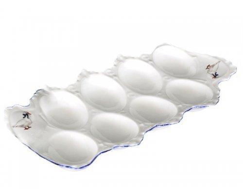 Поднос для яиц 25 см Гуси Корона Queens Crown