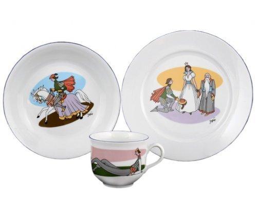 Детский набор 3 предмета Тхун (Thun) Принц (Подарочная упаковка)