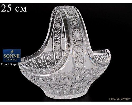 Корзина 25 см Sonne Crystal