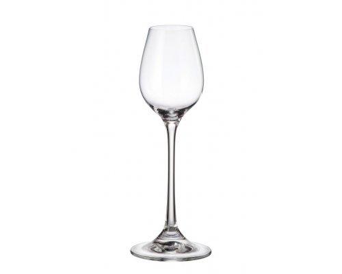 Набор рюмок для водки 120 мл Degustation Богемия Кристал (Bohemia Crystal)
