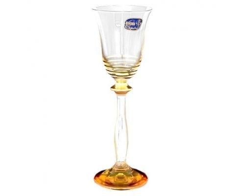Набор рюмок для водки 60 мл 6 штук Богемия Кристал (Bohemia Crystal)