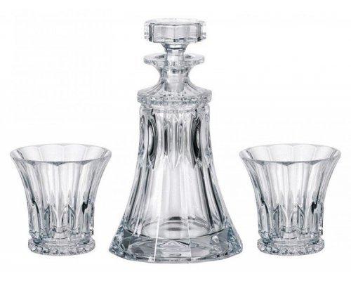 Набор для виски 3 предмета Welington Crystalite Bohemia