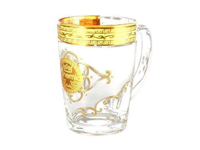 Набор кружек для воды Богемия U-R фон Bohemia Crystal 21400 6 шт