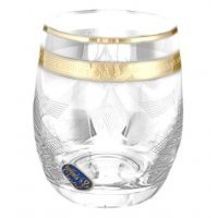 Набор стаканов для воды 300 мл V-D Богемия Кристал (Bohemia Crystal) (6 шт)
