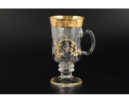 Набор кружек для воды 6 шт Krapnik Богемия Кристал (Bohemia Crystal)