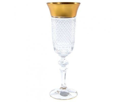 Набор фужеров для шампанского 150 мл Матовая полоса (6 шт)