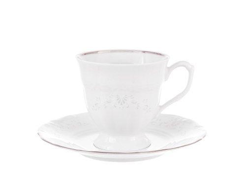 Набор чайных пар Repast Свадебный узор (6 шт) 200 мл