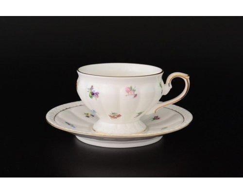 Набор чайных пар 220 мл Мария Royal (6 пар)