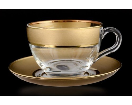Набор чайных пар B-G фон Богемия Кристал (Bohemia Crystal)