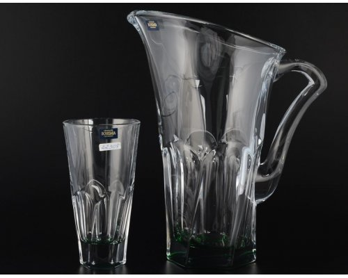 Набор для воды 7 предметов Apollo (зеленый) Кристалайт (Kristalayt)
