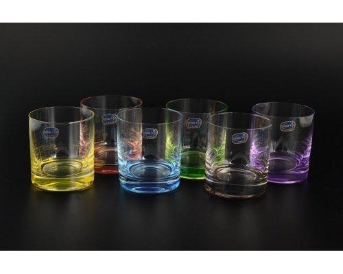 Набор стаканов для виски 280 мл Арлекино Богемия Кристал (Bohemia Crystal) (6 шт)