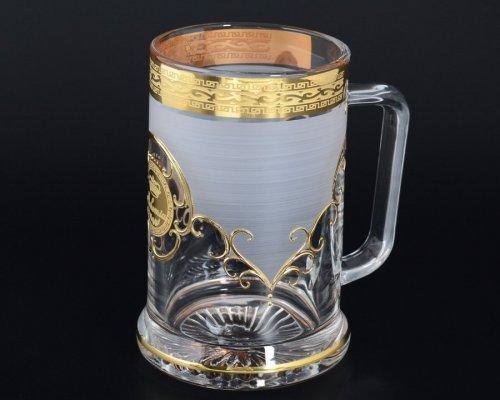 Пивная кружка 0.5 Богемия А-М Богемия Кристал (Bohemia Crystal)