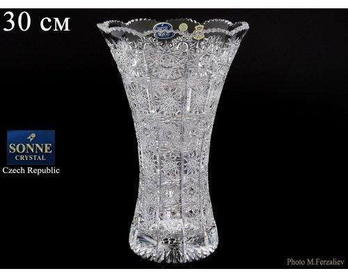 Ваза 30 см Sonne Crystal
