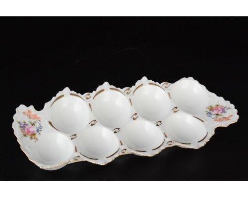 Поднос для яиц прямоугольный 20 см Полевой цветок Корона Queens Crown