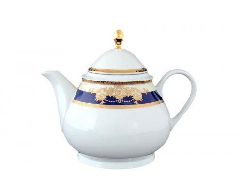 Чайник 1,2 л Тхун (Thun) Яна Кобальтовая лента