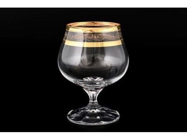 Набор бокалов для бренди 250 мл Диана Богемия Кристал (Bohemia Crystal) (6 шт)