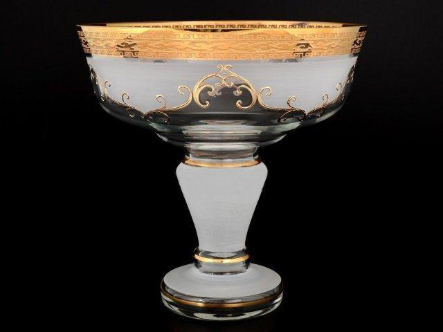 Фруктовница 26 см Версаче R-G фон Богемия Кристал (Bohemia Crystal)