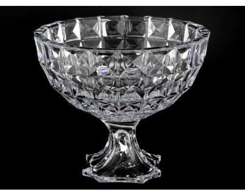 Фруктовница 28 см Diamond Кристалайт (Kristalayt) R-G