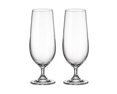 Набор бокалов для пива Crystalite Bohemia Sylvia/Klara 380 мл (2 шт)