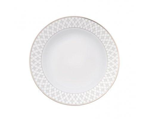 Набор глубоких тарелок Серебряная сетка Repast 22,5 см (6 шт)